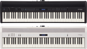 Roland FP60 black and white digital piano