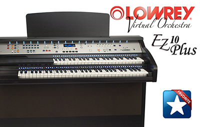 Lowrey EZ 10 Plus Organ