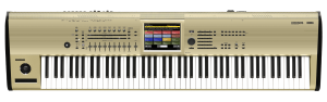 Korg Kronos 88 Workstation in gold