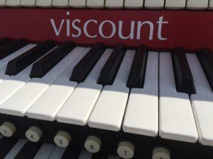 Washington Nationals Baseball Stadium Organ Keyboard