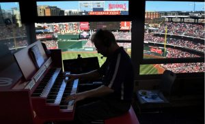 Washington Nationals Baseball Stadium Organ