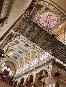 Our Lady of Mount Carmel Roman Catholic Church (OLMC) in Altoona, PA Decorative Ceiling