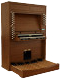 Viscount Chorale P31 Organ Side View